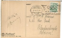 AUSTRIA SALZBURG JUEGOS OLIMPICOS DE BERLIN 1936 OLYMPIC GAMES - Sommer 1936: Berlin