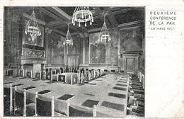 Pays Bas Den Haag La Haye 1907 Deuxieme Conference De La Paix + Timbre Cachet Gravenhage 1907 - Den Haag ('s-Gravenhage)