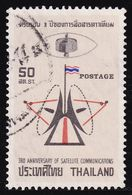 Thailand Stamp 1970 3rd Anniversary Of Satellite Communications - Used - Tailandia