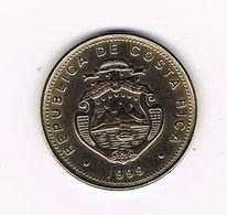 //  COSTA RICA  50 COLONES  1999 - Costa Rica