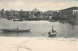 OLD POSTCARD - TURKEY - CONSTANTINOPLE - LA DOUANE - ANIMATA - VIAGGIATA 26.03.1902 - U78 - Türkei