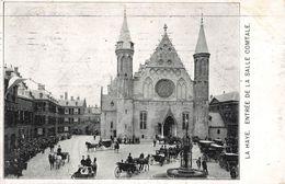 Pays Bas Den Haag La Haye Entrée De La Salle Comtale Attelage + Timbre Cachet Gravenhage 1907 - Den Haag ('s-Gravenhage)