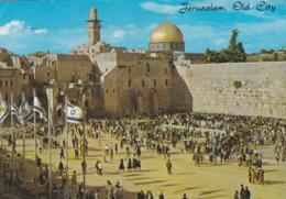 JERUSALEM - ISRAÊL - ANIMATED 1975 POSTCARD. - Judaísmo