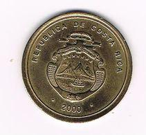 //  COSTA RICA  100 COLONES  2000 - Costa Rica