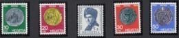 SCHWEIZ  751-755,  Postfrisch **, Pro Patria 1962, Münzen - Pro Patria