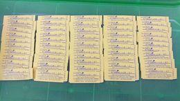 LOT N° E 501 FRANCE  Un Lot De 50 Carnets A 22 Francs = 1100 Francs Soit 167 € Neufs Sans Gomme Car Tous Collés - Stamps