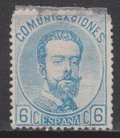 1872 AMADEO 6 CTS NUEVO(*). 210 €. VER - 1872-73 Königreich: Amédée I.