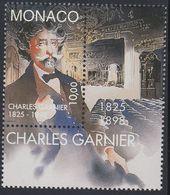 Monaco 1998 - The 100th Death Anniversary Of Charles Garnier, Architect - Mi 2406 ** MNH [1242] - Monaco