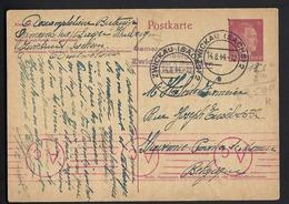 Allemagne - Empire - Carte Postale De 1944 - Entiers Postaux - - Germany