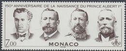 Monaco 1998 - The 150th Anniversary Of The Birth Of Prince Albert I - Mi 2404 ** MNH [1244] - Monaco