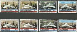 1978 NEW HEBRIDES (FRENCH + ENGLISH) CONCORDE MICHEL: 505-512  MNH/** - Concorde