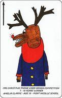 Jersey GPT Phonecard   Christmas 1992Phone Card Design - [ 7] Jersey Und Guernsey