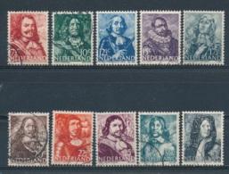 Nederland/Netherlands/Pays Bas/Niederlande 1943 Mi: 412-421 Nvph: 412-421 (Gebr/used/obl/o)(5249) - Used Stamps