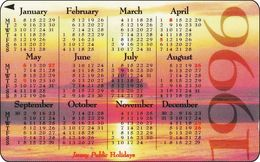 Jersey GPT Phonecard   Calendar 1996 - [ 7] Jersey Und Guernsey
