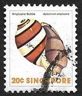 SINGAPOUR  1977 -  YT 266  -  Amplustre Bubble  -  Oblitéré - Singapur (1959-...)