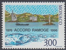 Monaco 1996 - 20th Anniversary Of Ramoge Agreement On Environmental Protection Of Mediterranean - Mi 2299 ** MNH [1249] - Monaco