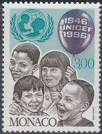 Monaco 1996 -  The 50th Anniversary Of UNICEF: Children - Mi 2316 ** MNH [1250] - Monaco