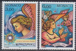 Monaco 1996 - Christmas: Angels - Mi 2321-2322 ** MNH [1251] - Monaco