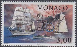 Monaco 1996 - Monaco Yacht Club: Sailing Ships - Mi 2327 ** MNH [1252] - Monaco