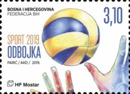 2019 Sport, Volleyball, Mostar, MNH, N° 515, Bosnia And Herzegovina - Bosnie-Herzegovine