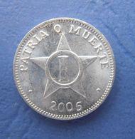 CUBA 1 CENTAVO 2005 AUNC - Cuba