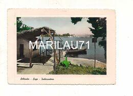 M9554 LAZIO SABAUDIA LATINA 1952 VIAGGIATA FRANCOBOLLO TOLTO - Other Cities