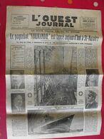"""""""L'Ouest Journal"""" N° 598 De 1932. Lancement Paquebot Normandie. Saint-Nazaire - Autres"""