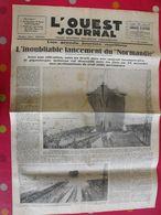 """""""L'Ouest Journal"""" N° 599 De 1932. Lancement Paquebot Normandie. Saint-Nazaire - Autres"""