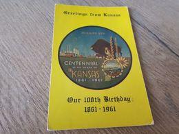 Postcard - USA, Kansas     (29018) - Etats-Unis