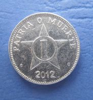 CUBA 1 CENTAVO 2012 AUNC - Cuba