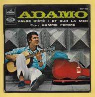 Disque Vinyle 45 Trs : ADAMO :  Valse D'été..Scan B : Voir 2 Scans - Collectors
