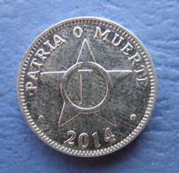 CUBA 1 CENTAVO 2014 AUNC - Cuba