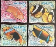 Vanuatu 1994 Anemone Fish MNH - Fische