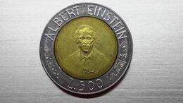 500 Lire 1984 EINSTEIN  (A10.87) - San Marino