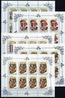 Sowjetunion/Russia 1986 Mi.5603-07 KB Pilze / Sc.5454-58 A  M/S Mushrooms **/MNH - 1923-1991 USSR
