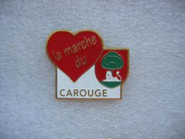 Pin's De La Marche Du Coeur à CAROUGE (Suisse) - Médical