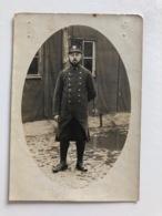 Foto Ak Soldat Francais Prisonnier De Guerre Konigsbruck Sachsen 1915 !cut! - Weltkrieg 1914-18