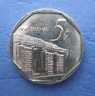 CUBA 5 CENTAVOS (CONVERTIBLES) 2009 AUNC - Cuba