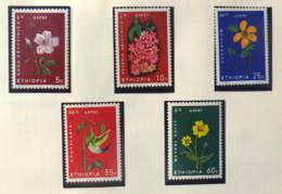 Ethiopia : 5 New Stamps Before 1980 - Ethiopie