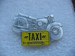 Pin's Moto, TAXI By Winterthur - Motorräder