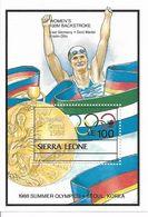 SIERRA LEONE BLOCS FEUILLETS JEUX OLYMPIQUES DE SEOUL 1988 - Ete 1988: Séoul