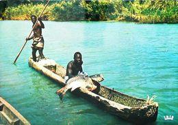 Afrique Francophone  - Pêche Au Capitaine En Pirogue (Ecrite à Lomé TOGO) 1982 - Togo