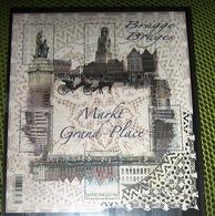 Blok 203** De Grote Markt Van Brugge 4285/89** La Grand Place De Bruges (feuille Avec Des Surtaxes) - Belgien