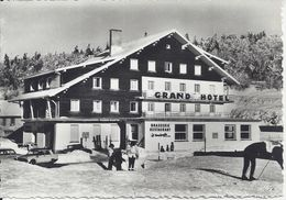 CPM France 88 Vosges Col De La Schlucht Le Grand Hôtel Brasserie Restaurant - Restaurants