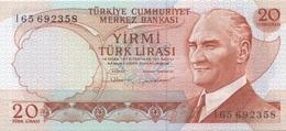 Turquie Turkey : 20 Lirasi UNC - Turquie