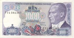 Turquie Turkey : 1000 Lirasi UNC - Turquie