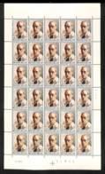 NN - [98414]TB//**/Mnh-NN- Belgique 1974, André Jamar, Artiste Peintre (autoportrait), En Feuille Complète (non Pliée), - Ganze Bögen