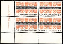 Canada 1962 MNH Sc #400 5c Trans-Canada Highway Plate #1 LL - Plaatnummers & Bladboorden