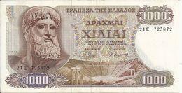 GRECE 1000 DRACHMAI 1970 VF P 198 - Greece