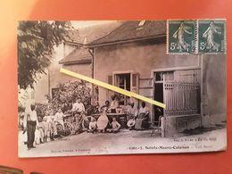 Sainte Maure Culoison Café Bezain     RARE - Andere Gemeenten